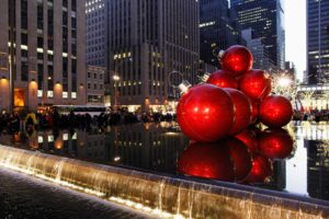 Midtown Christmas, 6th Ave Decorations, Midtown, Manhattan